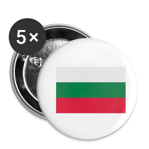 Bulgaria - Buttons klein 25 mm (5-pack)