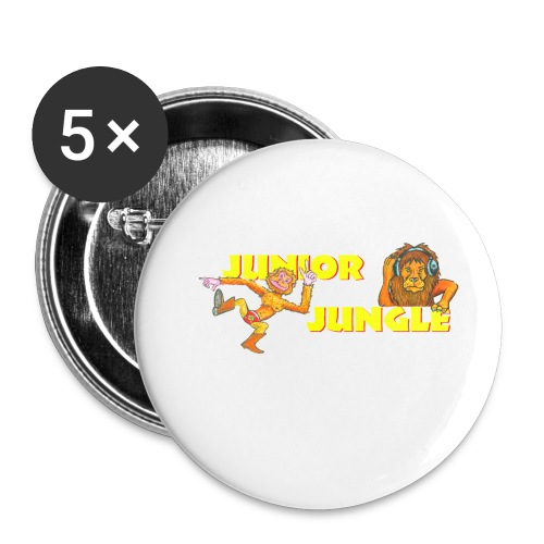 T-charax-logo - Buttons small 1''/25 mm (5-pack)