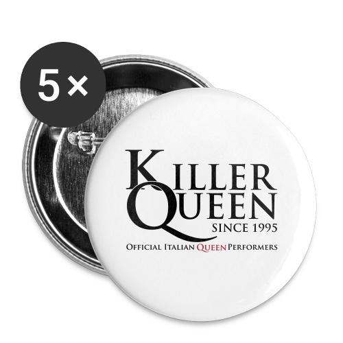 Killer Queen Italia - Confezione da 5 spille piccole (25 mm)