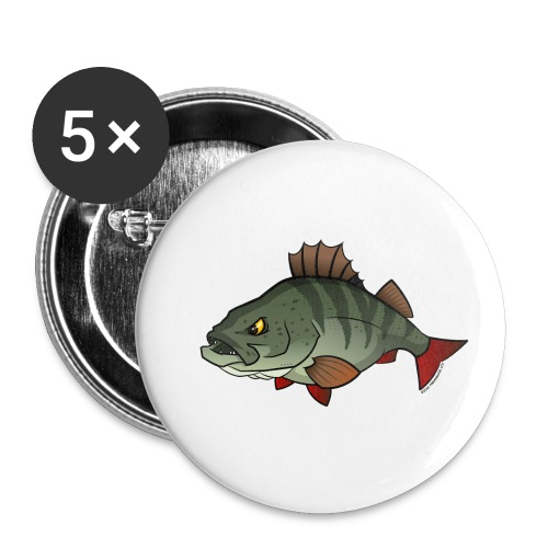 Red River: Perch - Buttons small 1''/25 mm (5-pack)