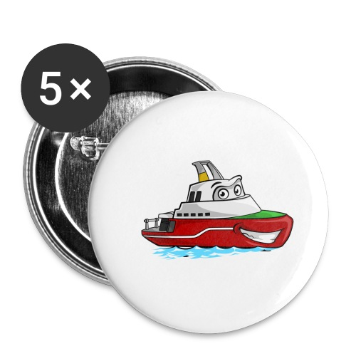 Boaty McBoatface - Buttons small 1''/25 mm (5-pack)