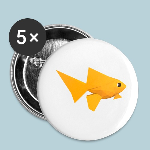 RATWORKS Fish-Smish - Buttons small 1''/25 mm (5-pack)