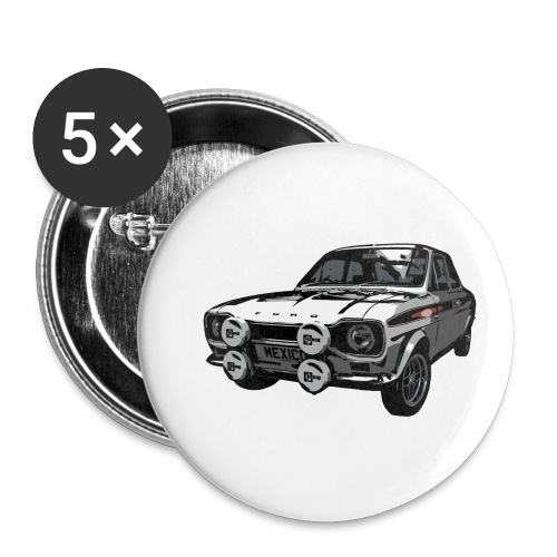 Mk1 Escort - Buttons small 1''/25 mm (5-pack)