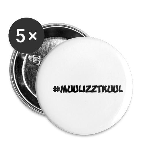 Muulizztkuul - Buttons klein 25 mm (5er Pack)