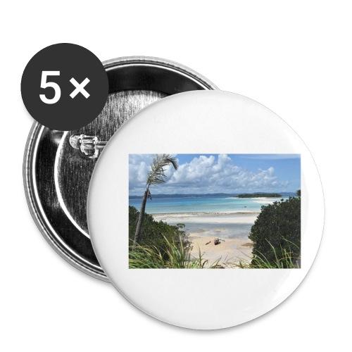 Nosy Iranja - Confezione da 5 spille piccole (25 mm)