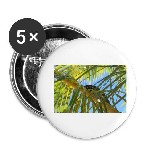 Camaleonte - Confezione da 5 spille piccole (25 mm)