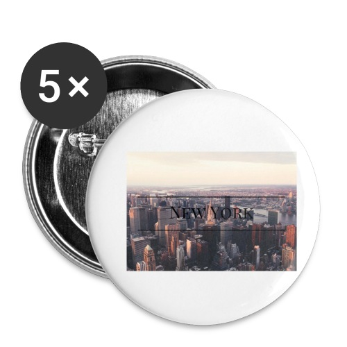 spreadshirt - Lot de 5 petits badges (25 mm)