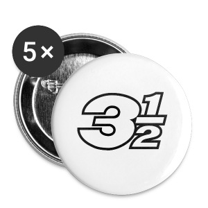 Three and a Half Logo - Buttons small 25 mm