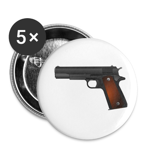 gun - Buttons klein 25 mm (5-pack)