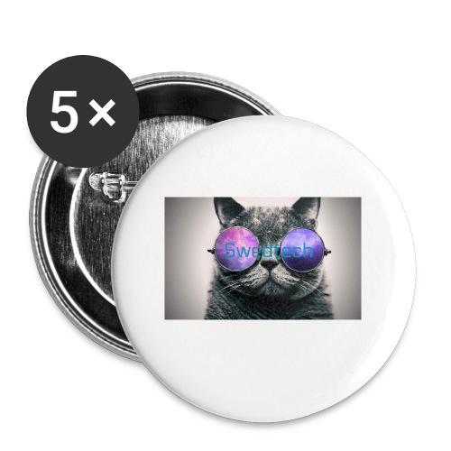 youtube bild 3 2 - Små knappar 25 mm (5-pack)