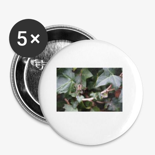 Incy Wincy Spider - Buttons small 1''/25 mm (5-pack)