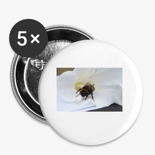 Beeflu - Buttons small 1''/25 mm (5-pack)