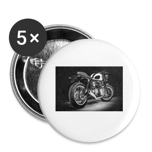 Monia's Thruxton 'Performance Scrambler' - Buttons small 1''/25 mm (5-pack)