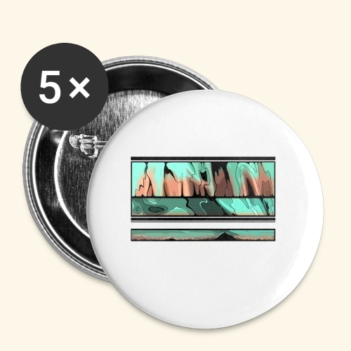 Slur-F06 - Buttons small 1''/25 mm (5-pack)