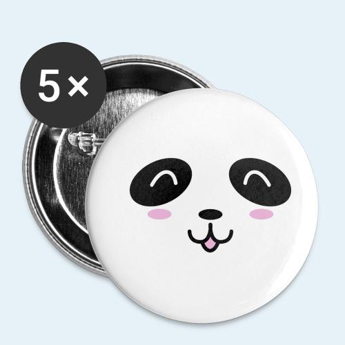 Cachorro panda (Cachorros) - Paquete de 5 chapas pequeñas (25 mm)