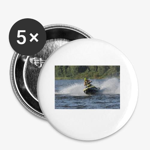 Larse Jetski - Rintamerkit pienet 25 mm (5kpl pakkauksessa)