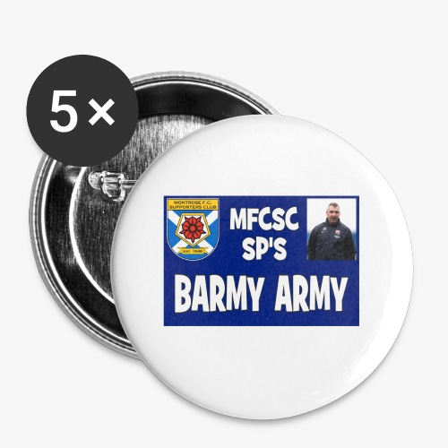 Barmy Army - Buttons small 1''/25 mm (5-pack)