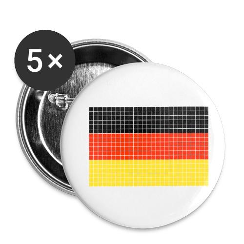 german flag.png - Confezione da 5 spille piccole (25 mm)
