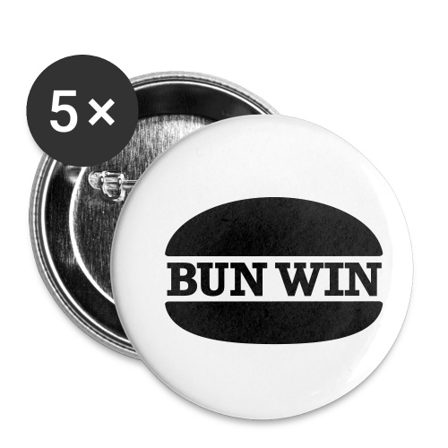 bunwinblack - Buttons small 1''/25 mm (5-pack)
