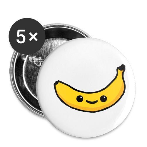 Alles Banane! - Buttons klein 25 mm (5er Pack)