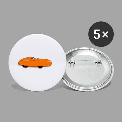 Quest velomobile - Rintamerkit pienet 25 mm (5kpl pakkauksessa)