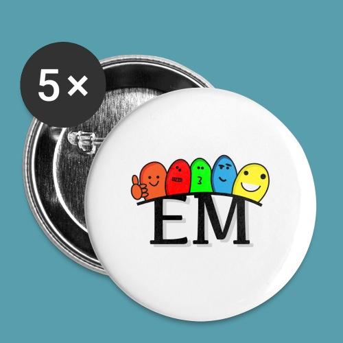 EM - Rintamerkit pienet 25 mm (5kpl pakkauksessa)