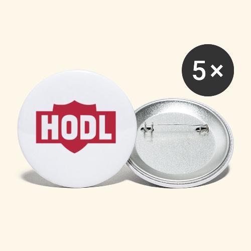 HODL TO THE MOON - Rintamerkit pienet 25 mm (5kpl pakkauksessa)