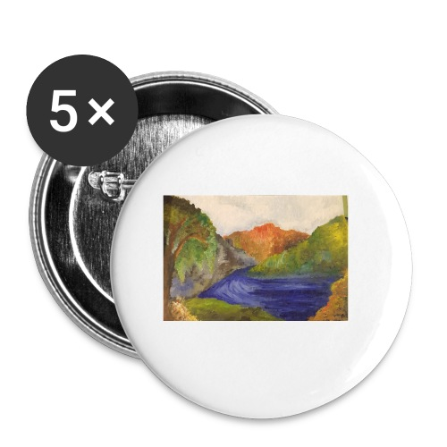 flo 1 - Buttons small 1''/25 mm (5-pack)
