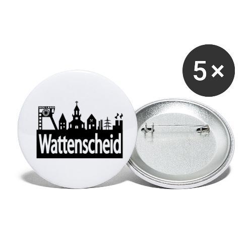 Skyline Wattenscheid - Buttons klein 25 mm (5er Pack)