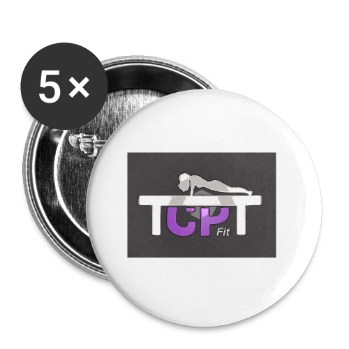 TCPTFit - Buttons small 1''/25 mm (5-pack)