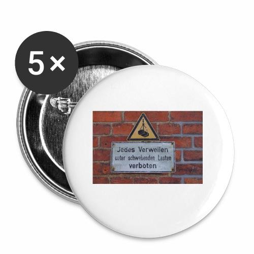 Original Artist design * Jedes Verweilen - Buttons small 1''/25 mm (5-pack)