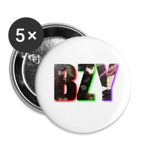 BZY - OFICJALNY PROJEKT - Przypinka mała 25 mm (pakiet 5 szt.)
