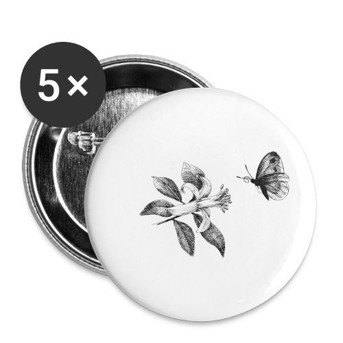 Botanical - Buttons klein 25 mm (5er Pack)
