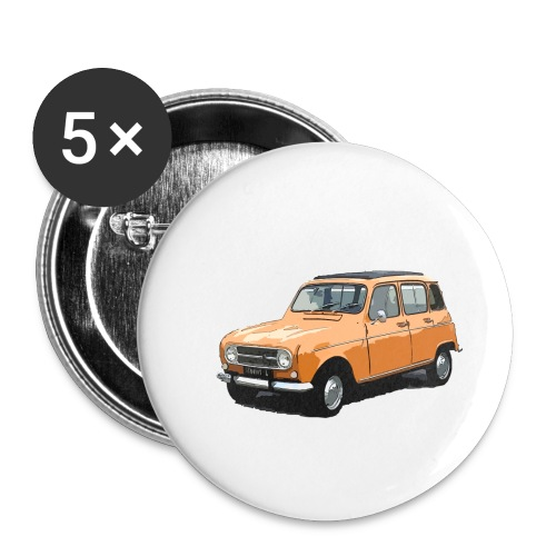 My Fashion 4l - Lot de 5 petits badges (25 mm)