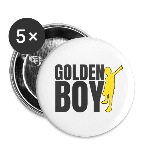Golde Boy - Spilla piccola 25 mm