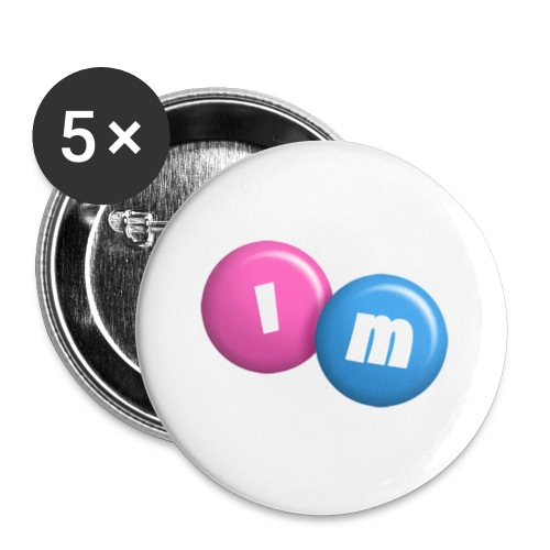 IM designs - Buttons small 1''/25 mm (5-pack)
