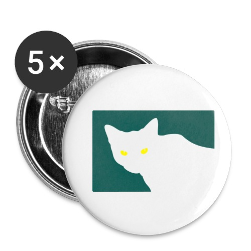 Spy Cat - Buttons small 1''/25 mm (5-pack)