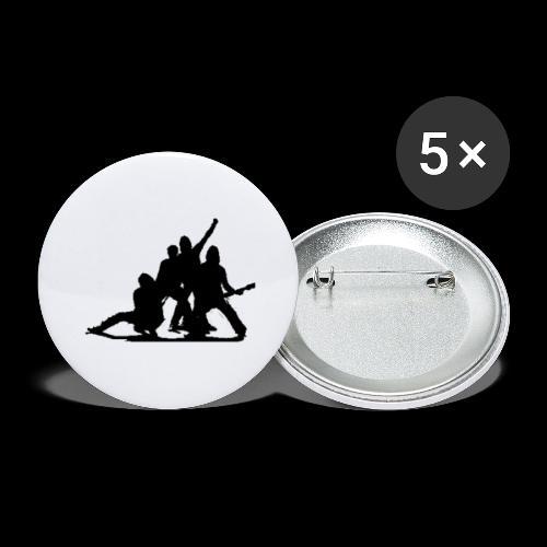 Glimmer siluett - Liten pin 25 mm (5-er pakke)
