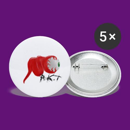 PKT Eye - Lot de 5 petits badges (25 mm)