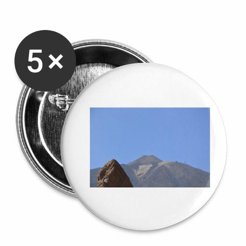 Teide - Teneriffa - Buttons klein 25 mm (5er Pack)