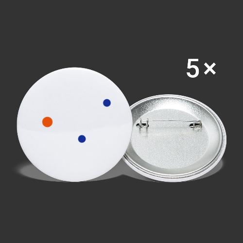 Serotonin - Lot de 5 petits badges (25 mm)