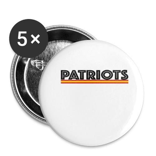 patriots españa - Paquete de 5 chapas pequeñas (25 mm)