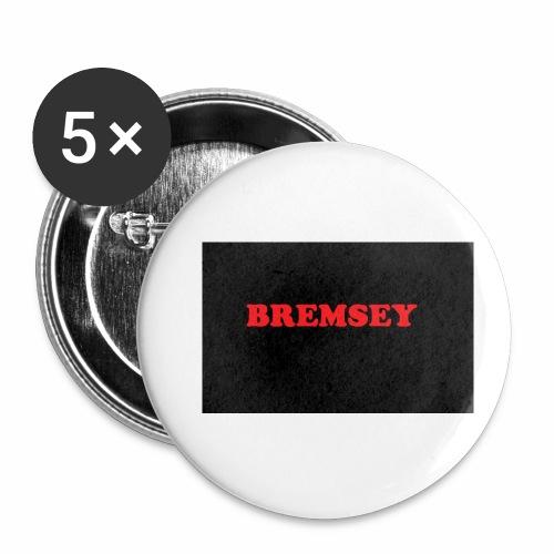 bremsey - Små knappar 25 mm (5-pack)