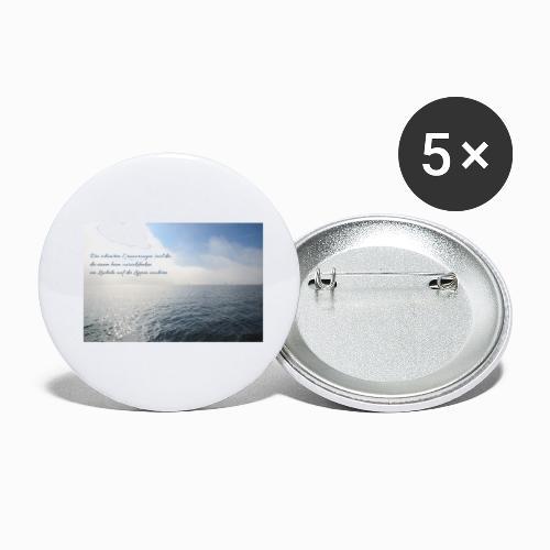 Die schönsten Erinnerungen sind die, ... - Buttons klein 25 mm (5er Pack)