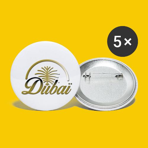 DUBAI - Lot de 5 petits badges (25 mm)