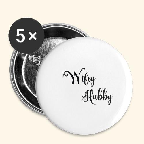 Wifey Hubby SVG by cutfilesgallery 580x386 - Små knappar 25 mm (5-pack)
