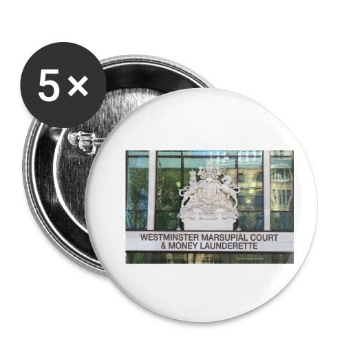 Court of Contempt - Buttons small 1''/25 mm (5-pack)