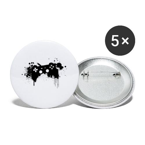 Speel harde controller - Buttons klein 25 mm (5-pack)