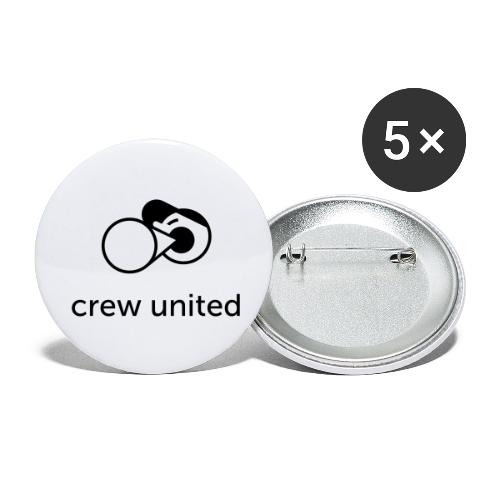 Crew United - Buttons small 1''/25 mm (5-pack)