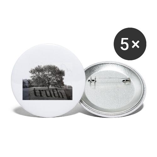 Truth - Buttons small 1''/25 mm (5-pack)